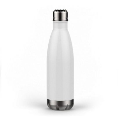 Personalized Custom Stainless Steel Double Wall Water Bottle - 17oz