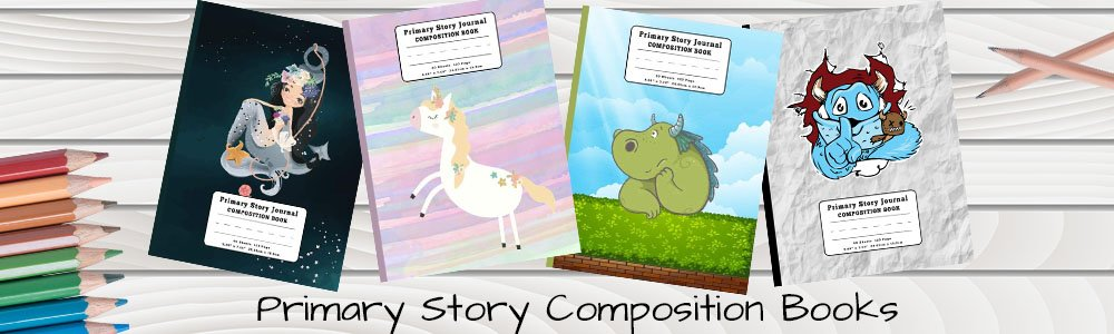 Primary Story Composition Books