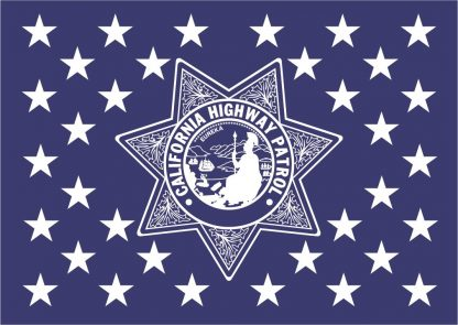 California Highway Patrol Flag Union