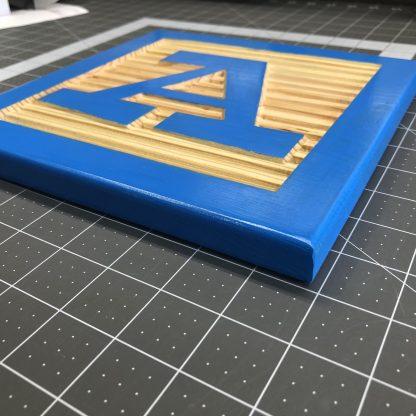 Wooden Letter Alphabet Block Faces for Nursery or Kids Room
